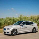 Водородный BMW 5 Series GT показан в виде прототипа [видео]