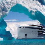 SeaXplorer: арктическая суперяхта-ледокол от Damen Shipyards [видео]