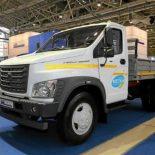 Среднетоннажный ГАЗон NEXT с двигателем ЯМЗ-534 CNG на метане [видео]