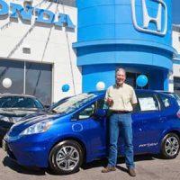 Электромобиль Honda Fit поступает в продажу