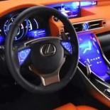 Технологии: сенсорный lexus lf cc на Парижском автошоу
