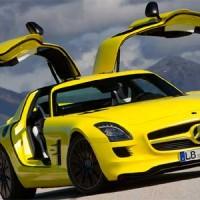 Суперэлектрокар Mercedes-Benz SLS AMG E-Cell: новые подробности