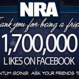 За день до трагедии в «Сэнди Хук» NRA праздновала юбилей — 1.7 млн лайков в Facebook