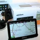 Многофункциональный автомобильный навигатор Oysters Chrom 3500: особенности модели