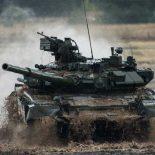 Российский Т-90 станет боевым роботом [видео]