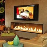 Как установить современный телевизор в комнате с камином