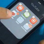 Как сложить папку в папку на домашнем экрана iPhone или iPad с iOS [видео]
