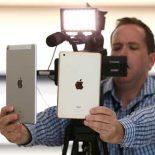 Сравнение экранов планшетов iPad Pro и iPad mini 4