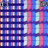 Retina дисплей будущего планшетника iPad 3 под микроскопом